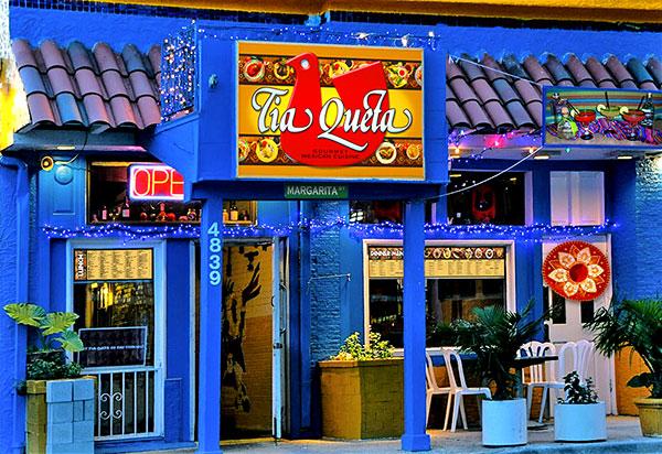 Tia Queta Mexican Restaurant fascade